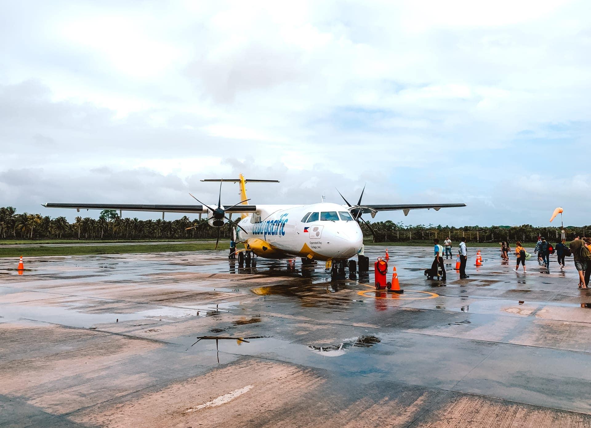siargao island flight philippines cebu
