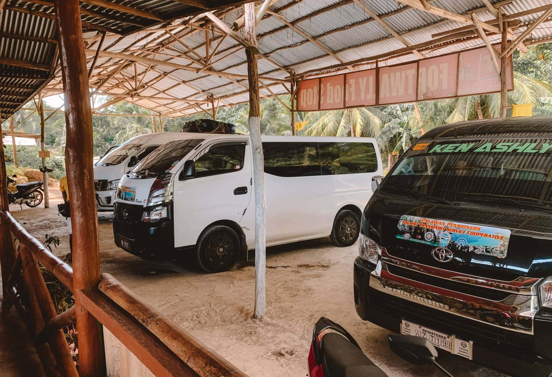travel guide el nido transportation