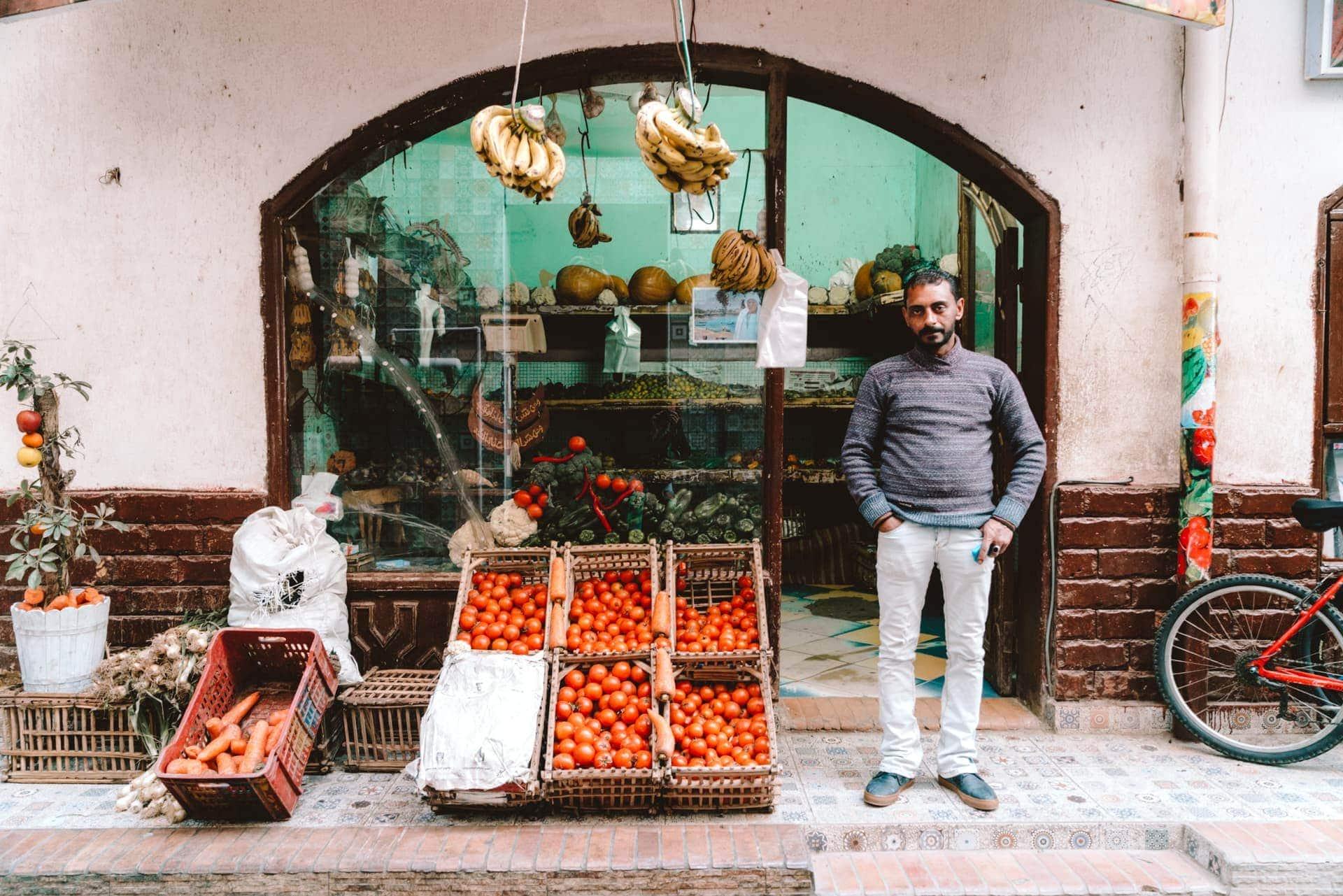 dahab fruit market