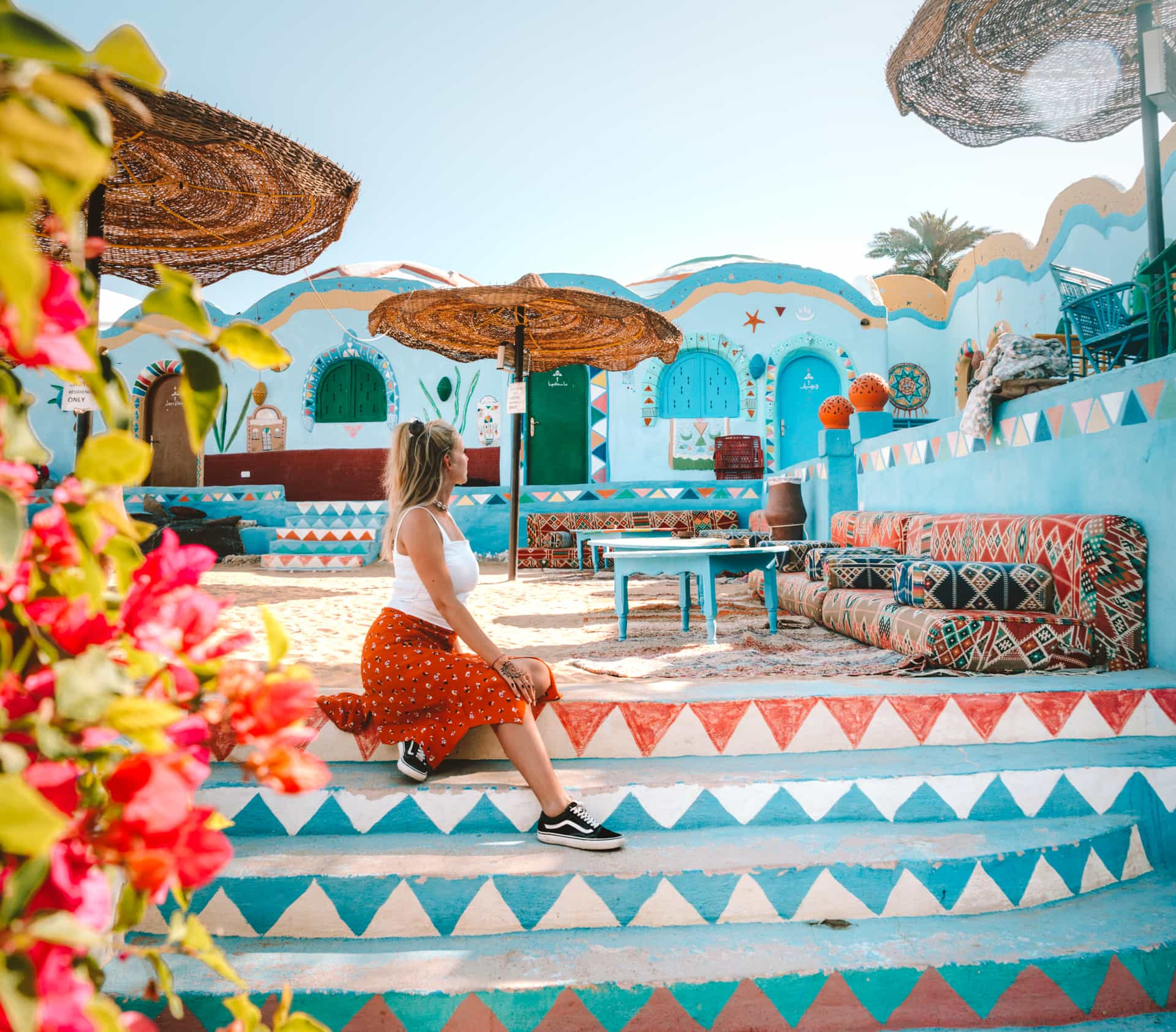 nubian colorful village