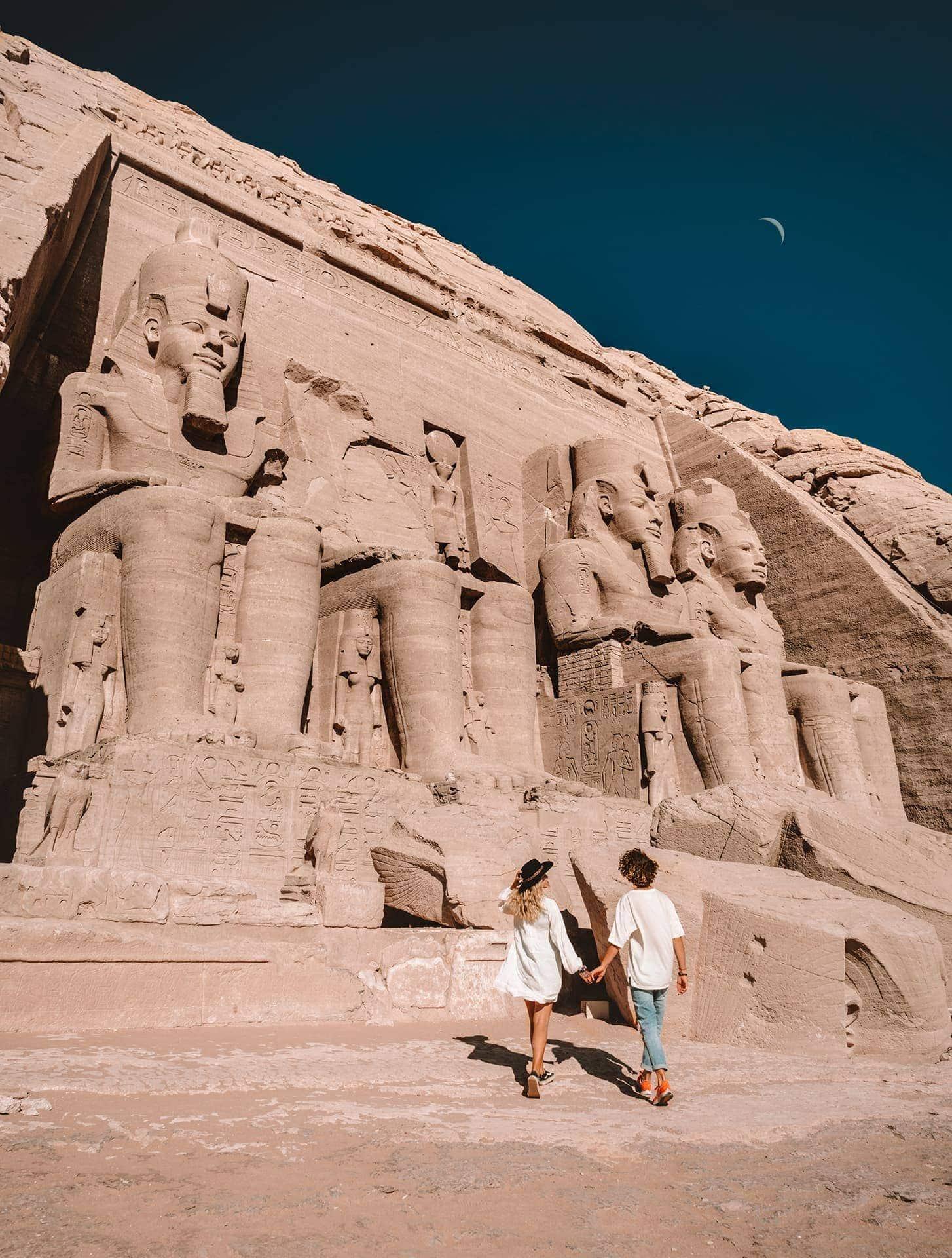 egypt travel route abu simbel