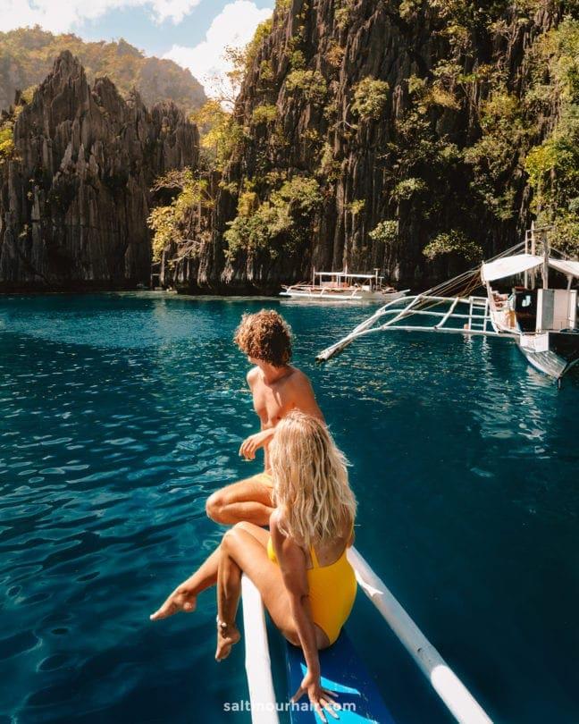 philippines travel guide coron island hopping