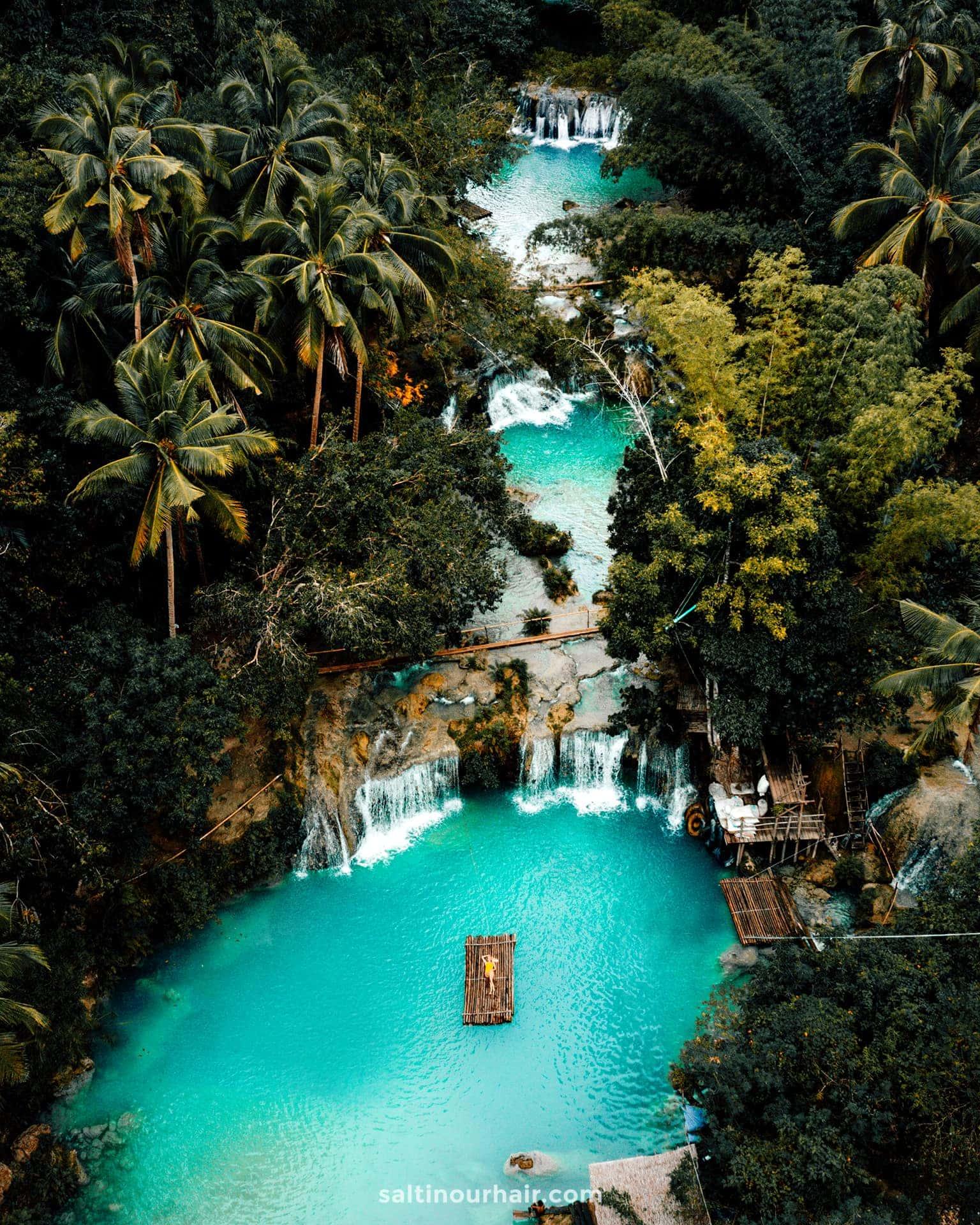philippines travel guide siquijor cambugahay waterfalls