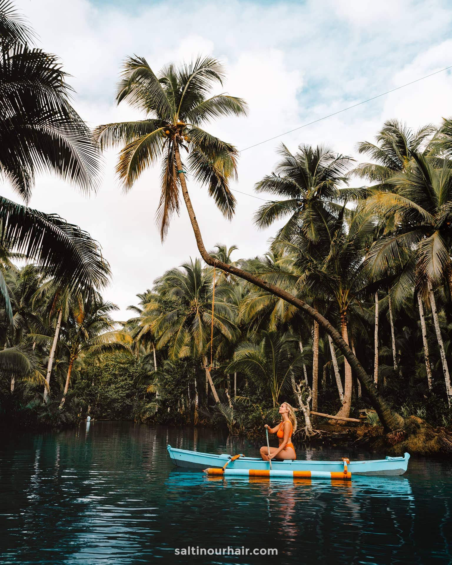 philippines travel guide siargao rope swing