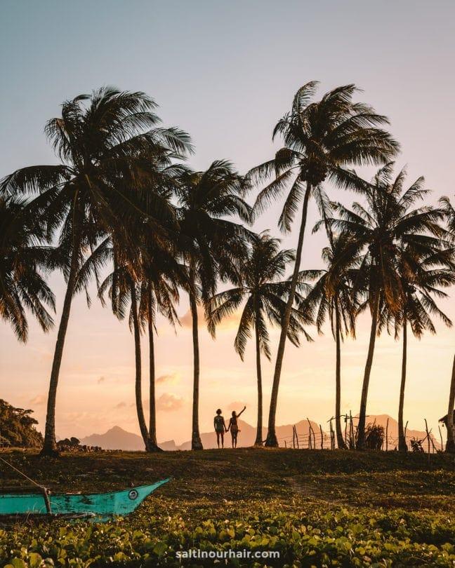 philippines travel guide el nido nacpan beach