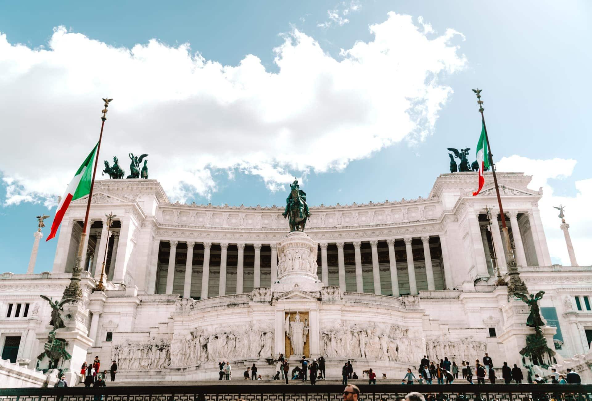 bezienswaardigheden rome Altare Della Patria monument