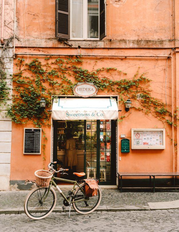 rome italië café