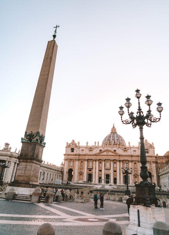 doen in Rome Sint-Pietersplein