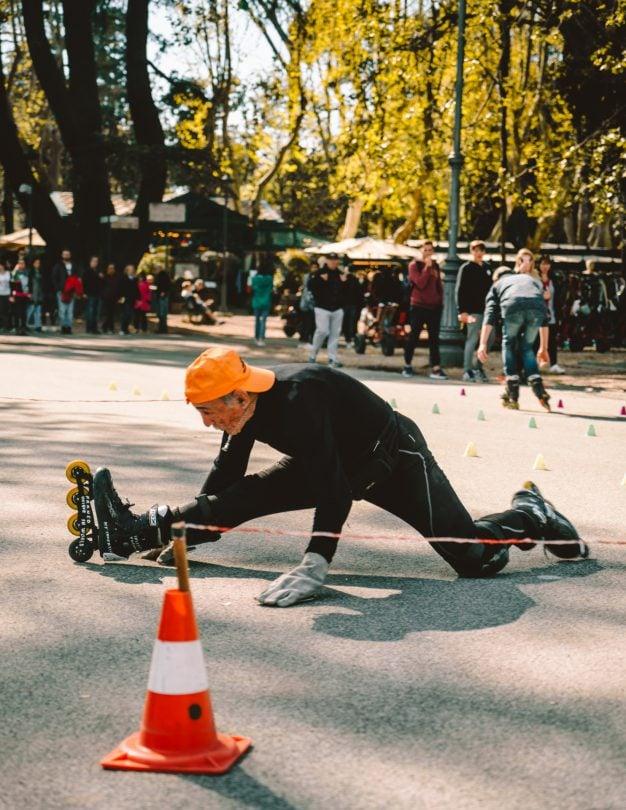 wat te doen rome villa borghese skate