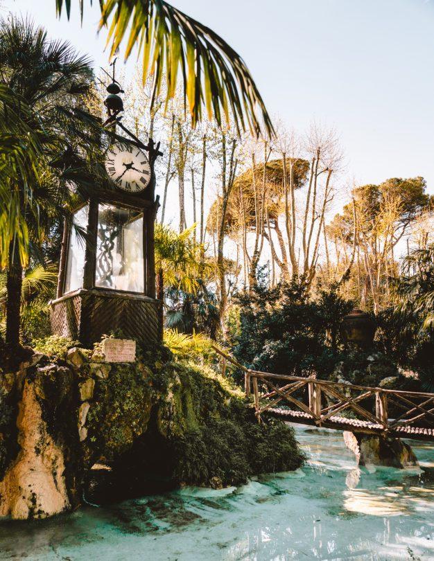 doen rome villa borghese park