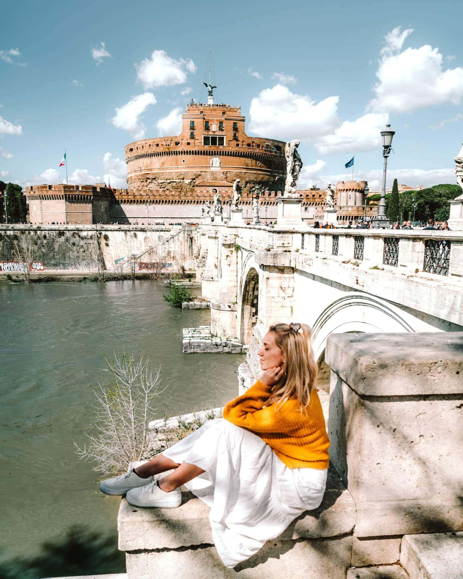 rome bezienswaardigheden Castel Sant'Angelo