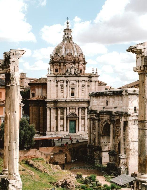 rome stedentrip Roman Forum
