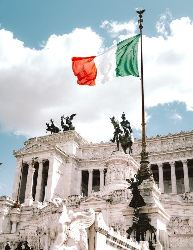 doen rome italië Altare DellaPatria