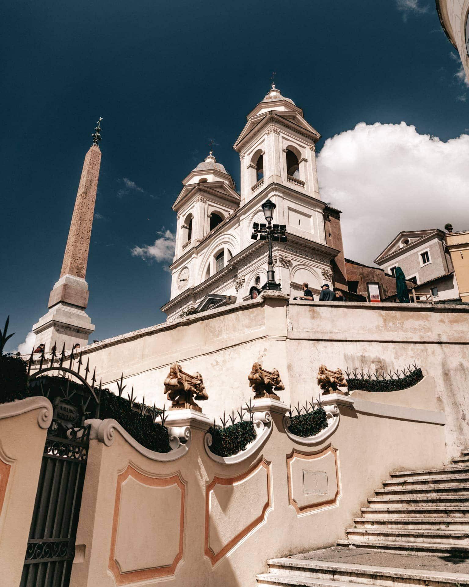 stedentrip rome Spaanse trappen