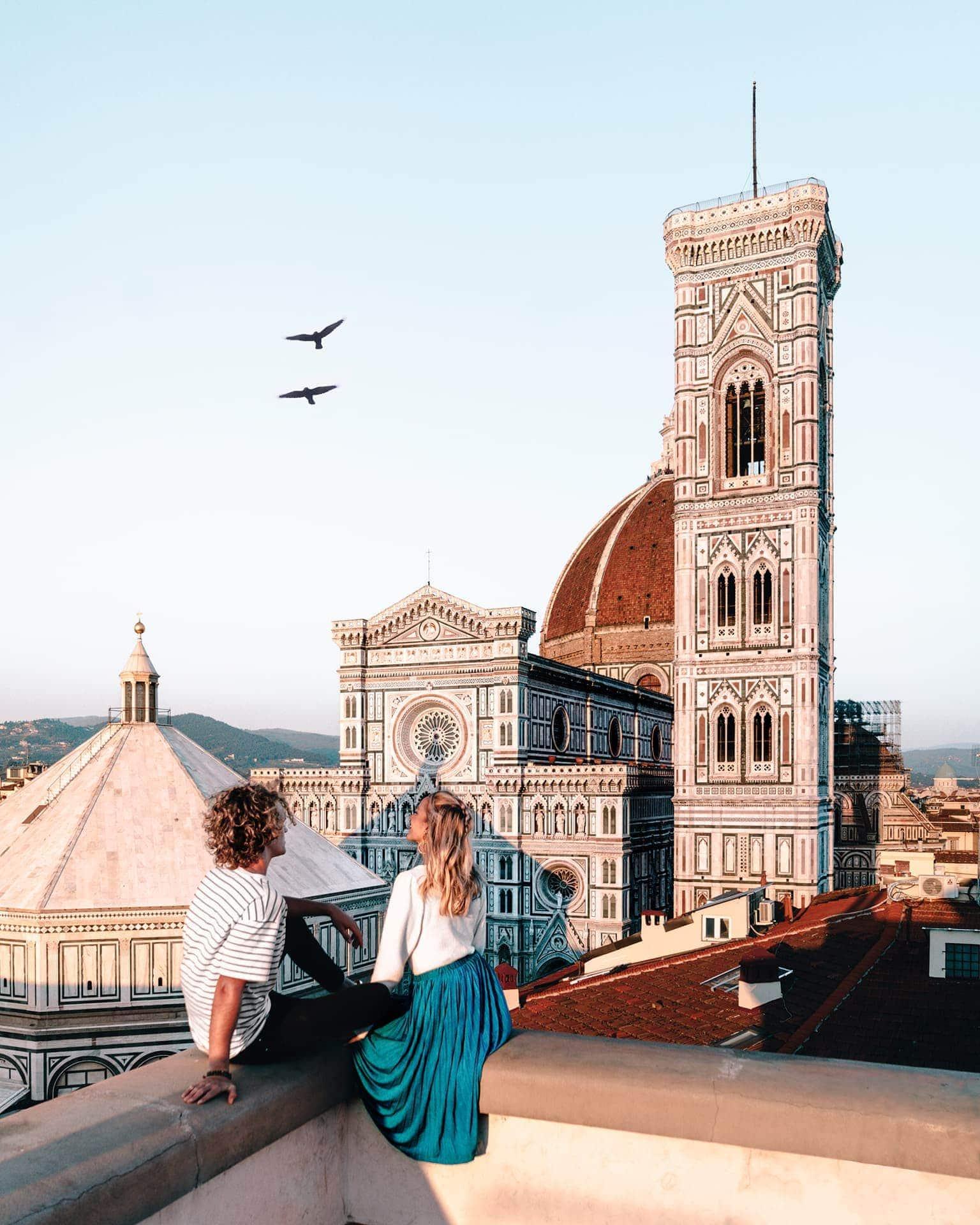 Florence italië Piazza del Duomo