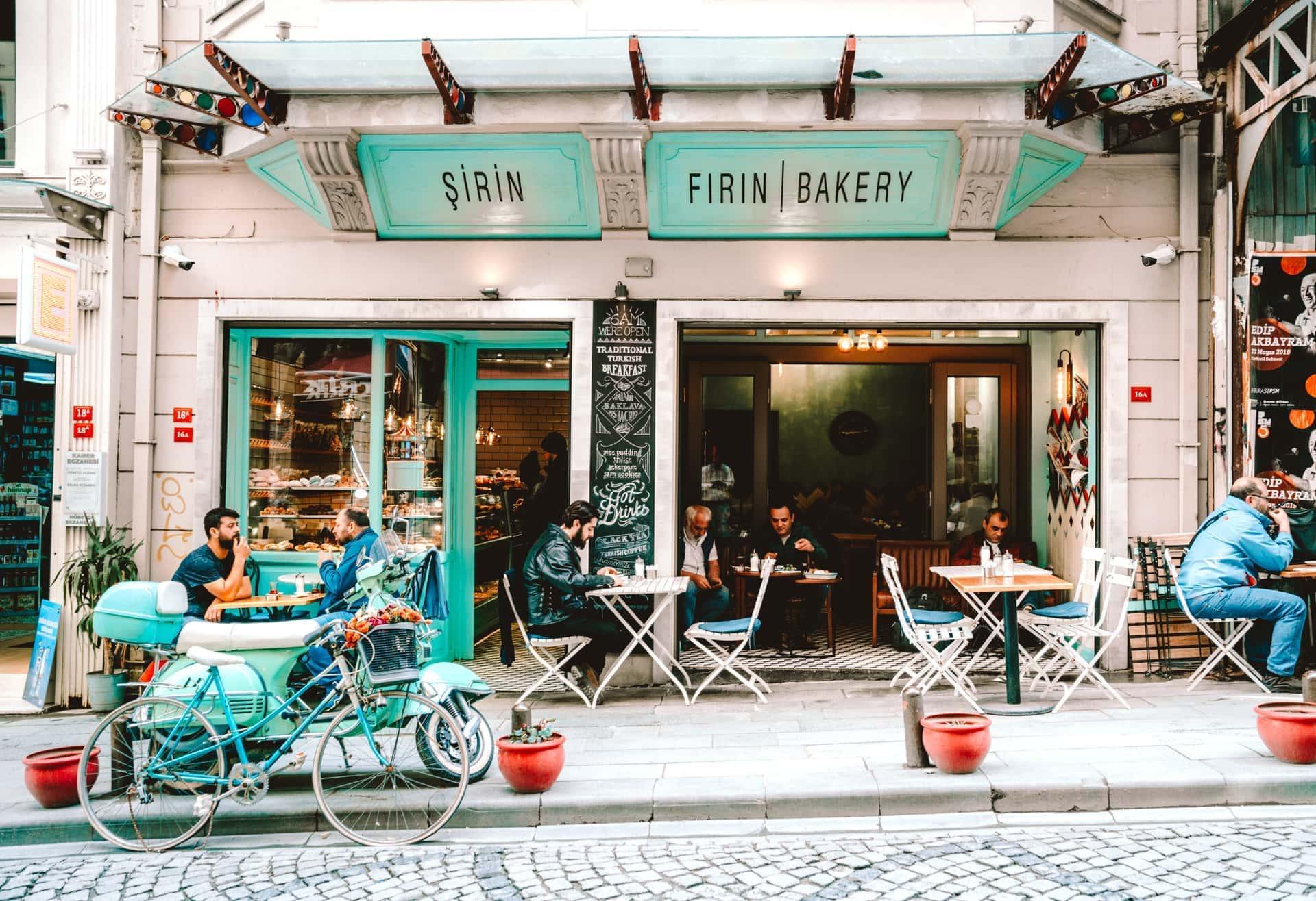 istanbul galata trendy cafe