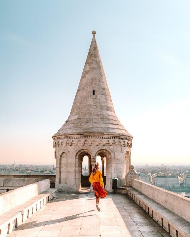Vissersbastion toren Boedapest bezienswaardigheid