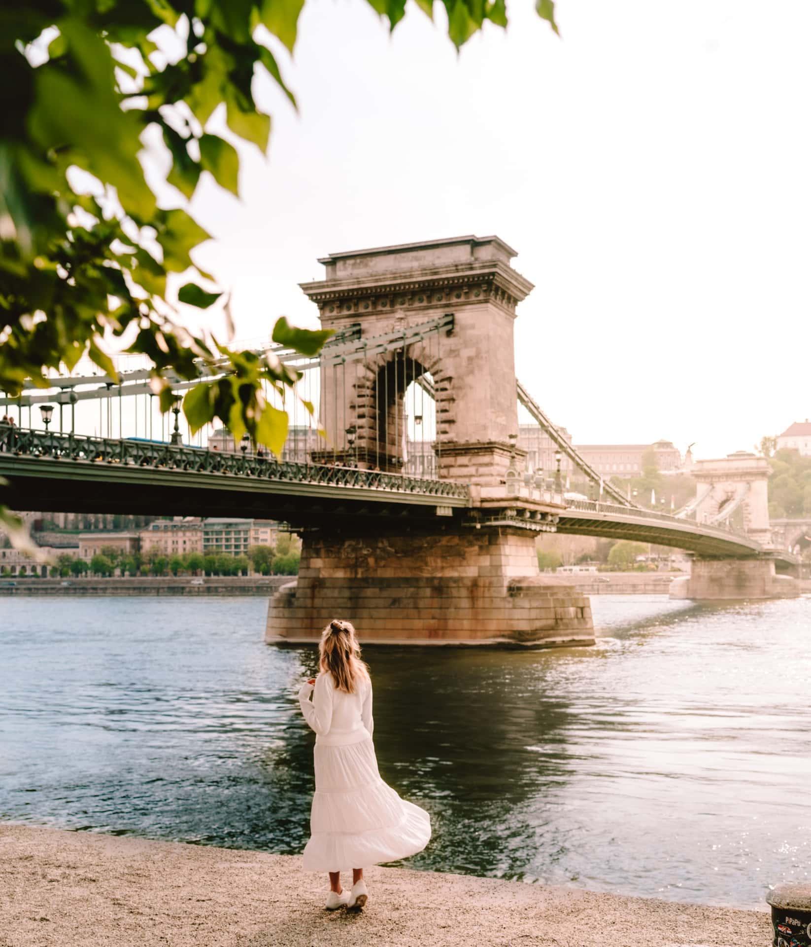 Boedapest Széchenyi ketting brug