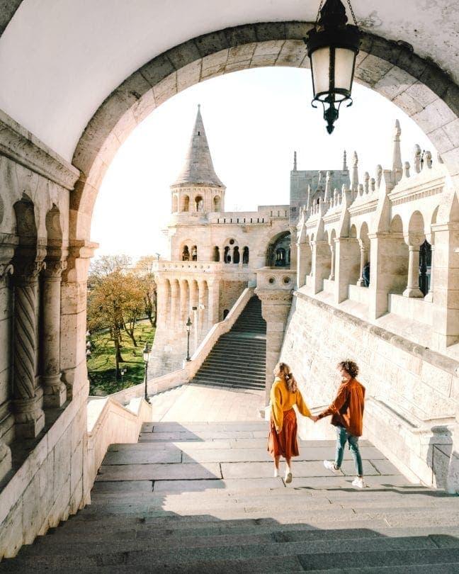 stedentrip Boedapest Vissersbastion bezienswaardigheid