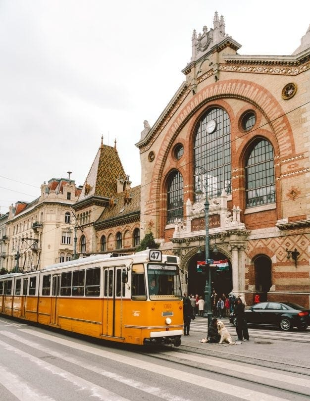 citytrip boedapest Grote Markthal
