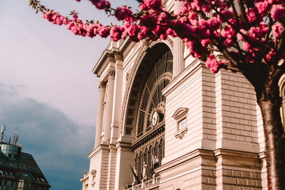 treinstation van Boedapest