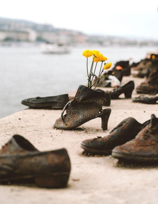 budapest stedentrip schoenen aan de donau