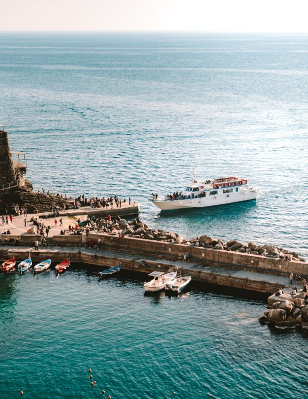 cinque terre italië veerboot