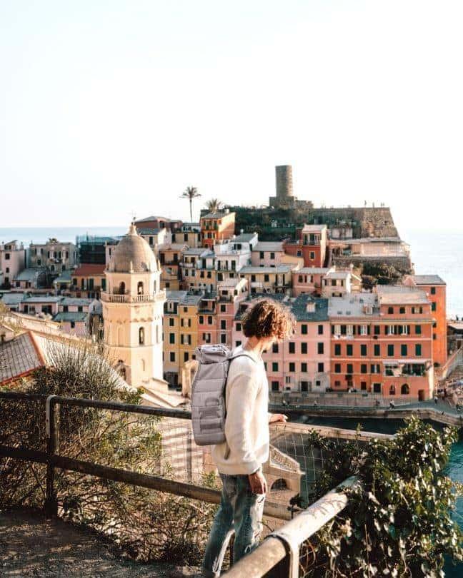 kleurrijk dorp Italië