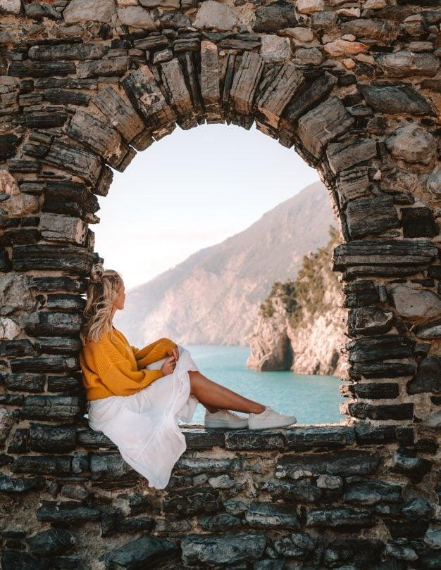 Portovenere uitkijkpunt Cinque Terre