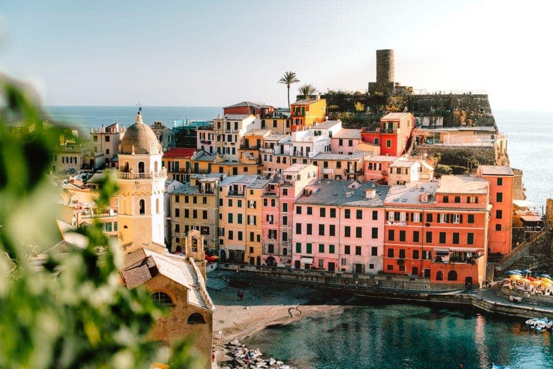 Cinque Terre Italië Vernazza
