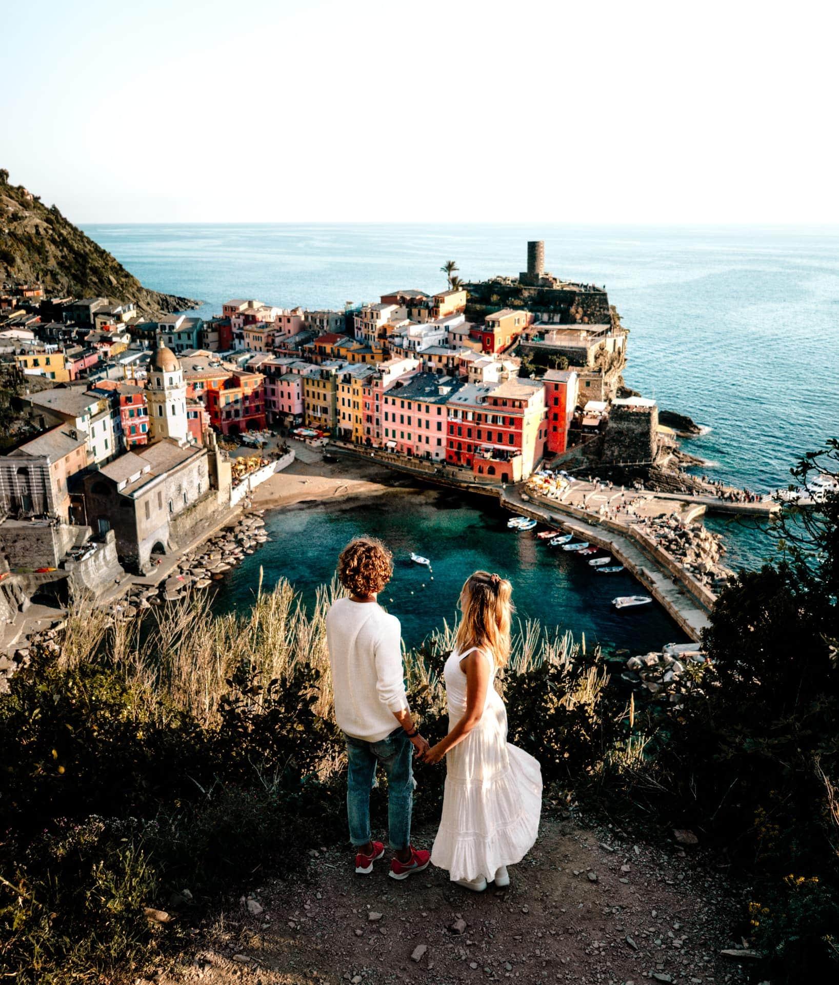 Cinque Terre Italië Vernazza beste uitzicht