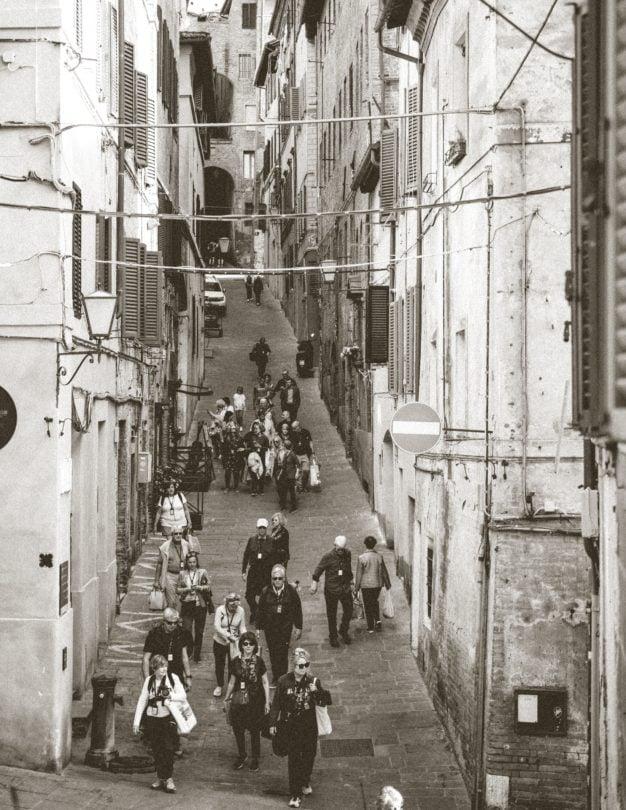 siena straten Toscane