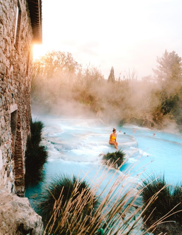 things you must do in italy hot springs tuscany