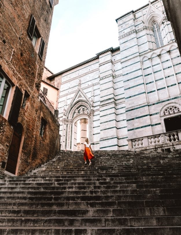 bezienswaardigheden siena italië reizen