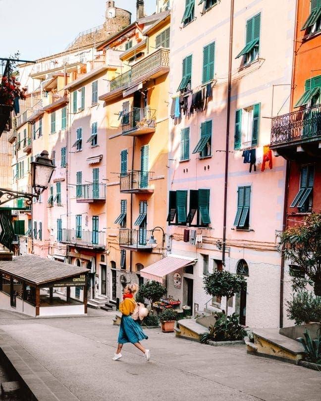 rondreis italië Cinque Terre
