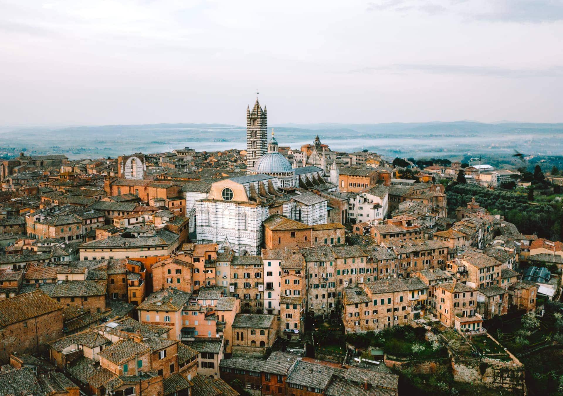 roadtrip italië bezienswaardigheden siena
