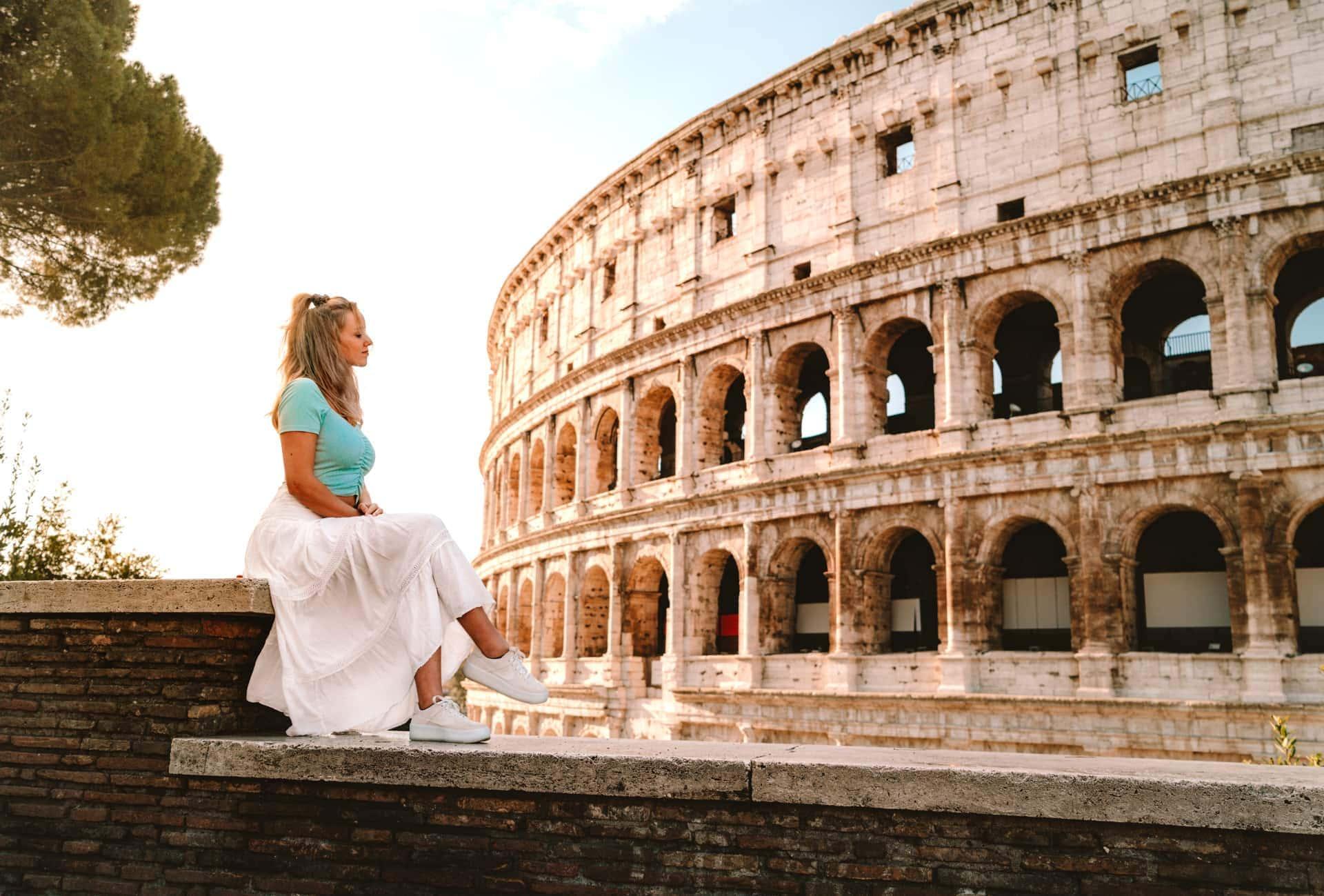 roadtrip italië rome colosseum