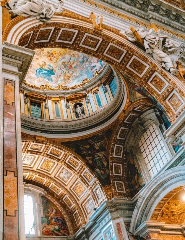 italië rondreis rome Sint-Pietersbasiliek