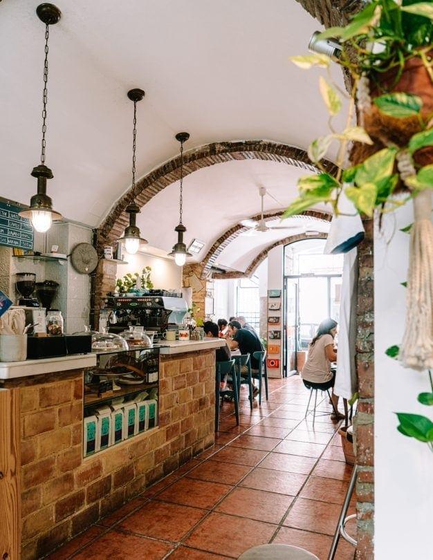valencia spain cafe