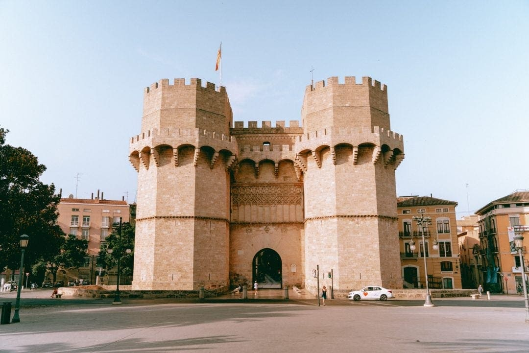 Serrano Towers Valencia Spanje