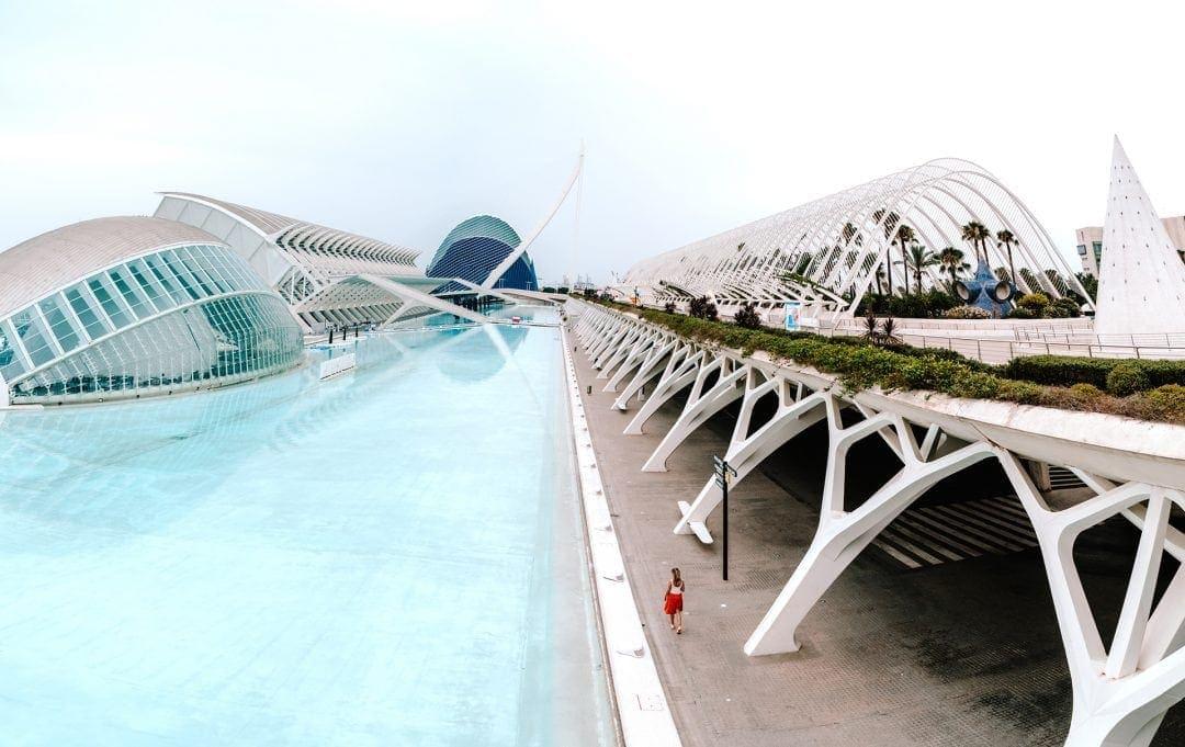 valencia bezienswaardighede Stad van Kunst en Wetenschap