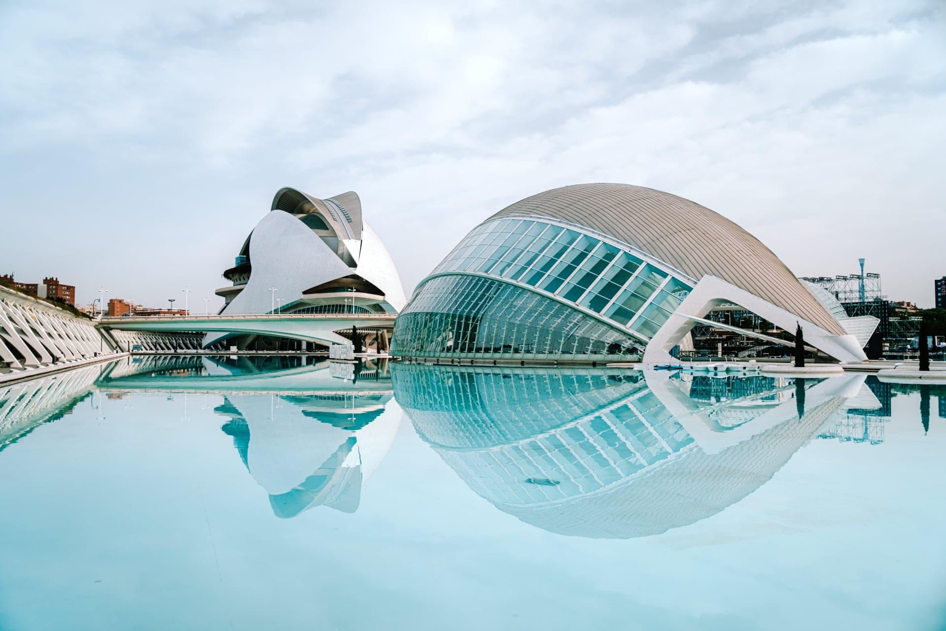 valencia spain city arts sciences