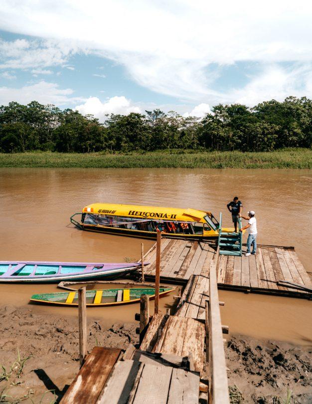 amazon peru boat