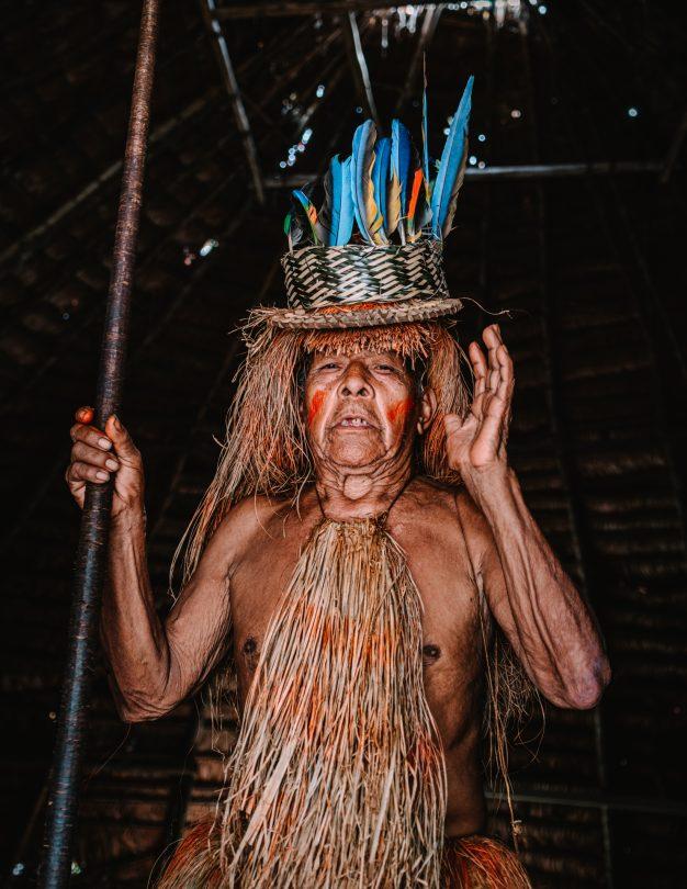 amazon peru village