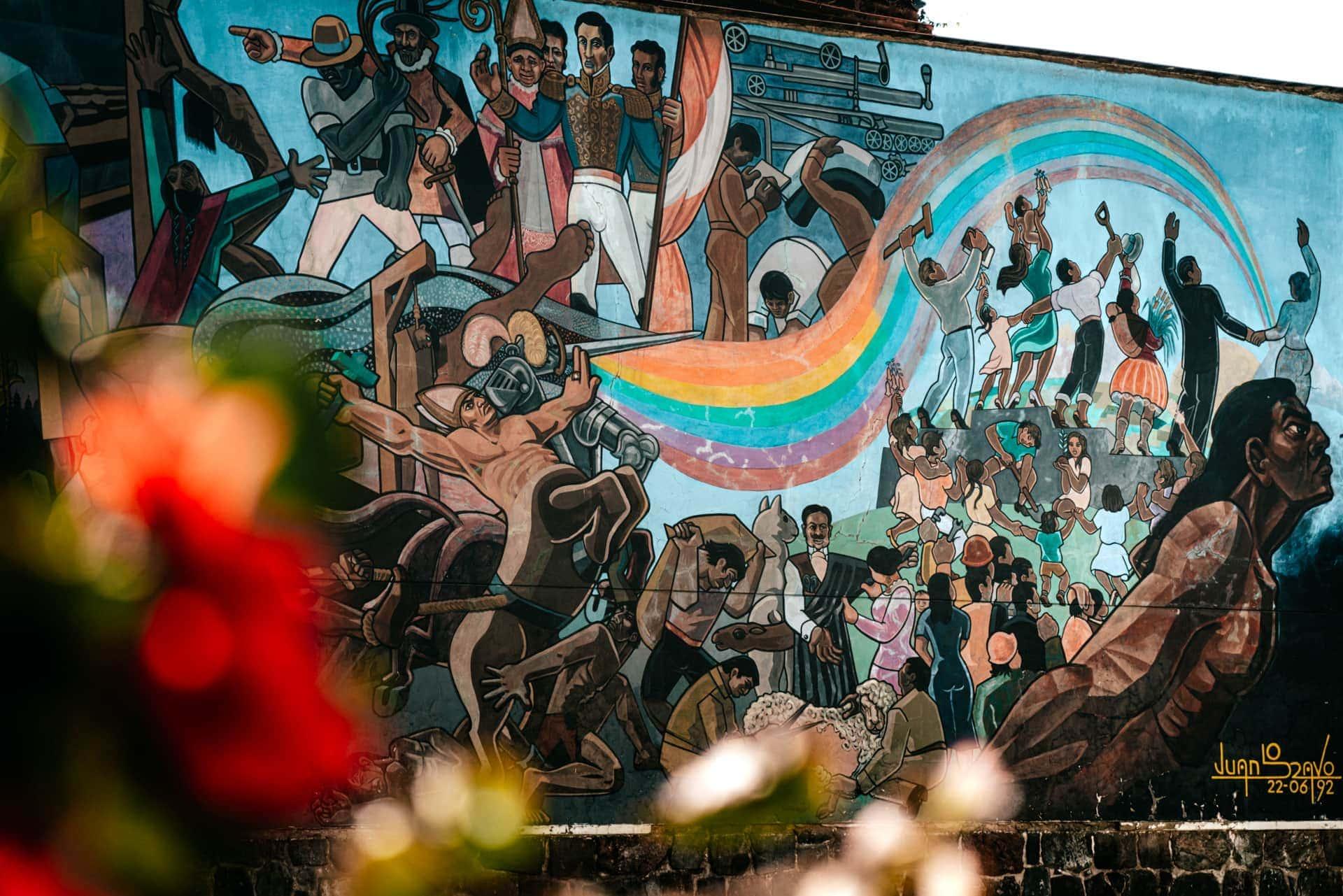 art wall cusco