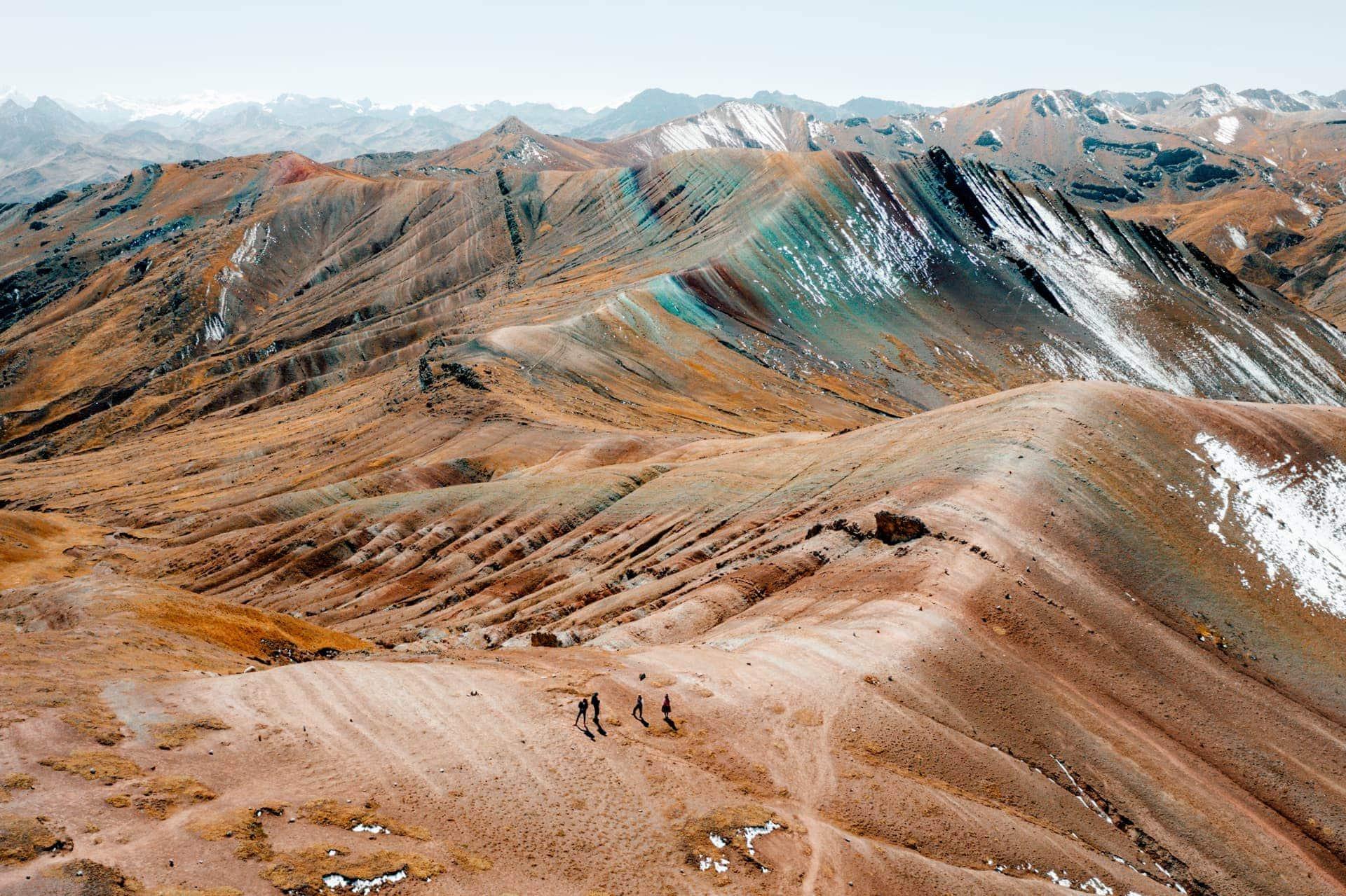 rainbow mountain peru palccoyo