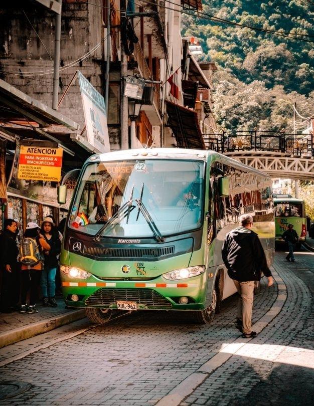 machu picchu shuttle bus