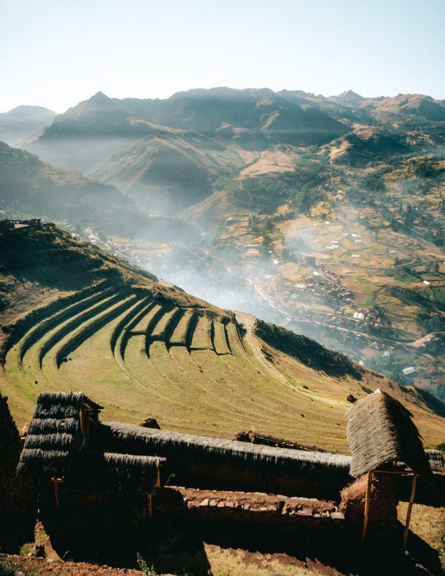 cusco peru Pisac sacred valley