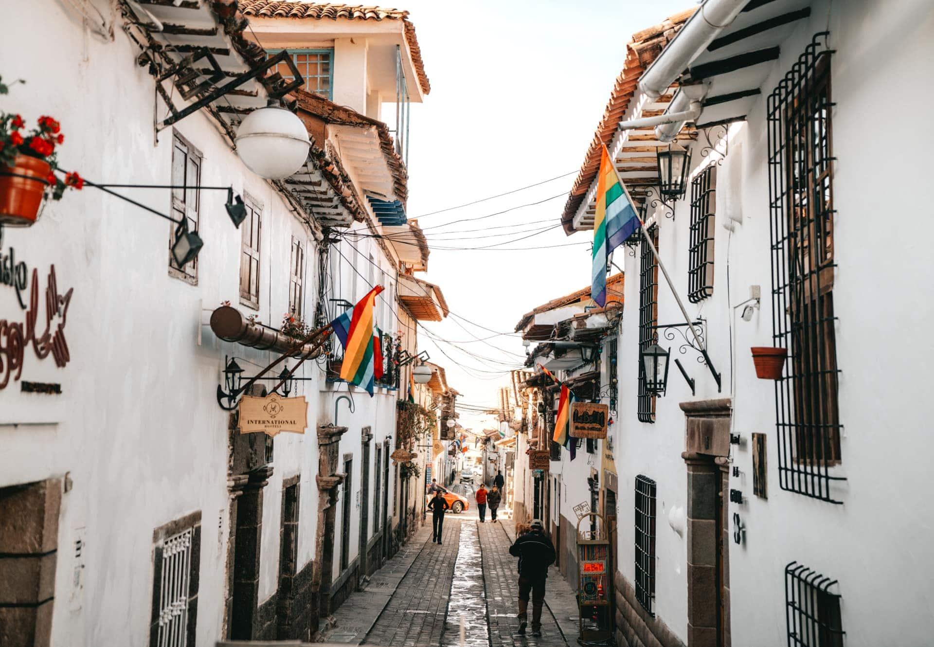 San Blas streets Cusco