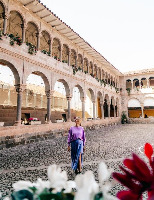 Qoricancha temple things to do in Cusco Peru